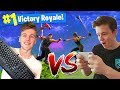 Mobile Player Vs. PC In Fortnite Battle Royale!