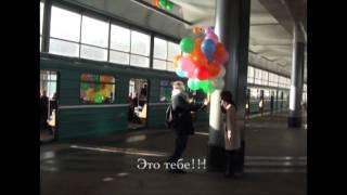видео Оригинальный способ удивить, или Букет из шаров