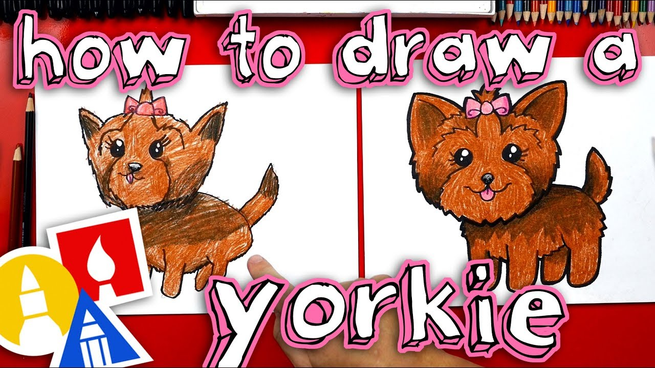 How To Draw A Yorkie Youtube