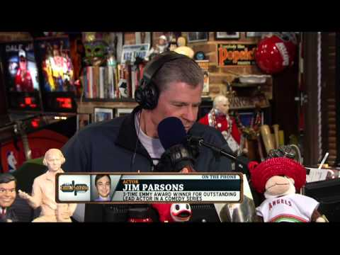 Jim Parsons on the Dan Patrick Show (Full Interview) 4/3/14