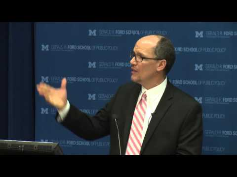 .@fordschool -  Thomas Perez: Creating shared prosperity through conscious capitalism
