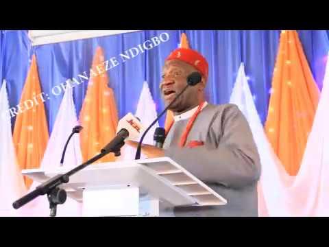 Amaechi, Nwodo Clash At UNIZIK Lecture