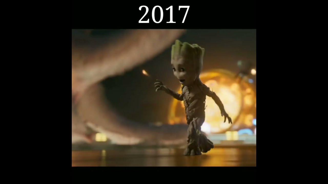 Evolution of Groot #Shorts #Evolution #Groot