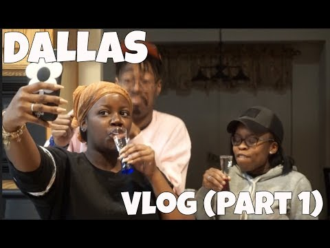 "Weekend Trip To Dallas (Vlog)| ""Its A Bad Biiiishhhh Birthday""