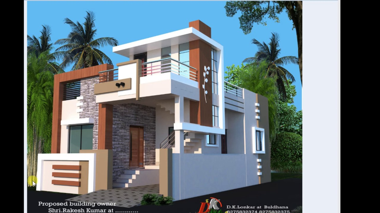 25x40 Ft Best House Plan And Front Elevation Modern
