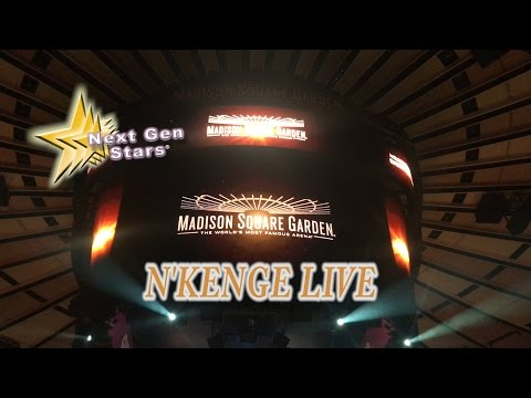 N'Kenge Sings the National Anthem at Madison Square Garden