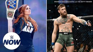 Becky Lynch teases training session with Conor McGregor's coach: WWE Now