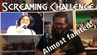 Screaming challenge - Chang Yu-sheng