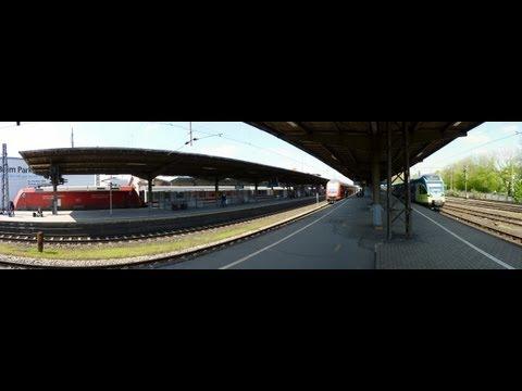 treinen, trains, Züge, Osnabrück Hauptbahnhof, Germany,  5-5-2013