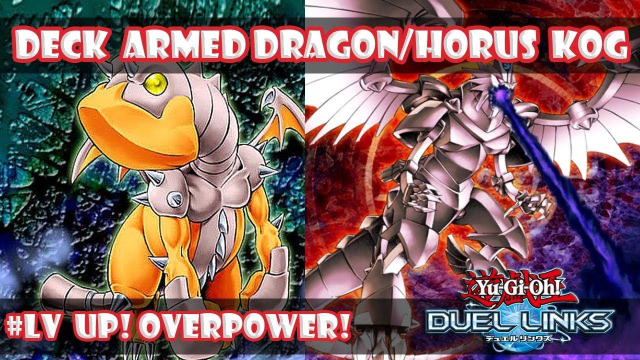 Deck Armed Dragon-Horus Yu-Gi-Oh! Duel Links!!!