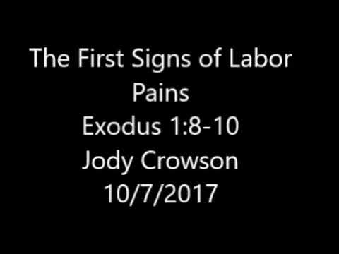 The First Signs Of Labor Pains