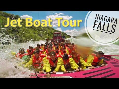 Niagara Falls Whirlpool Jet Boat Tour 2019 In 4K