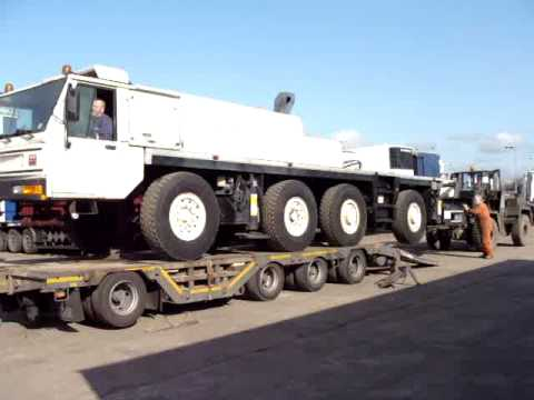 TEREX CRANE - LOADING CHASSIS