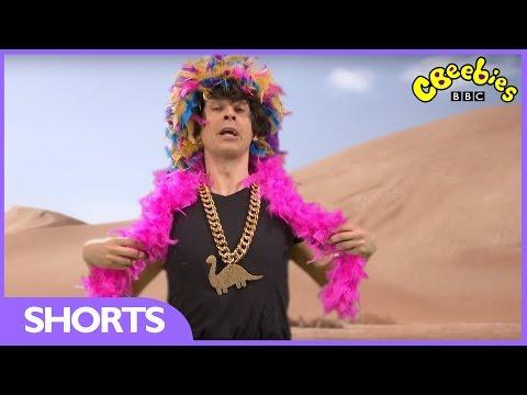 CBeebies | Andy's Dinosaur Raps | Gigantoraptor