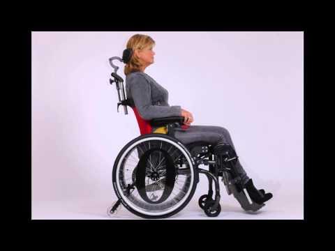 O4 Wheelchairs - Actief Passief Module -  lig naar zit