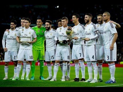 Real Madrid - Amazing Skills Show Part1 (2014-2015)