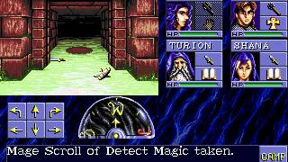 AD&D Eye of the Beholder (Sega CD) - Longplay Part 1