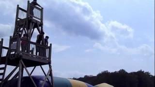 Big Blob Front Flips Life Action Camp