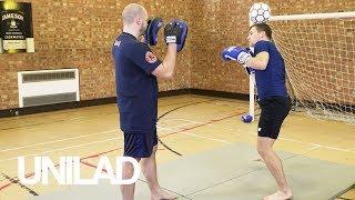 INSANE Muay Thai Football Freestyle Collaboration! | Andrew Henderson & Kieran Keddle | UNILAD