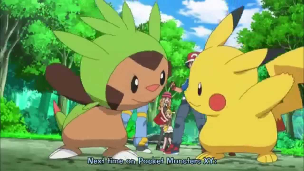 Pokemon XY Episode 10 Preview ポケットモンスターXY 10 - YouTube