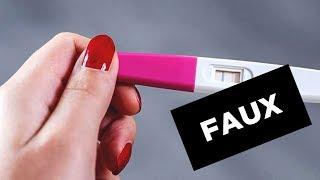 Le faux test de grossesse