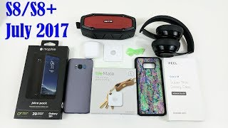 Galaxy S8 Must Have Accessories July 2017 (Giveaway Edition)
