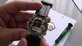 Casio GA-1000 battery replacement - YouTube