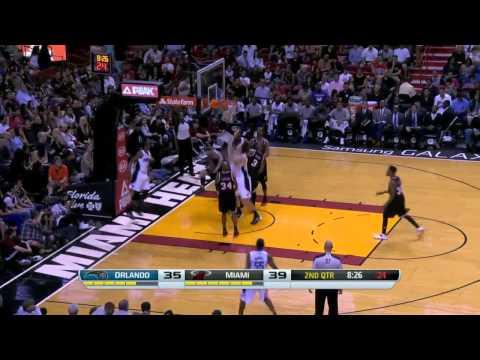 Orlando Magic vs Miami Heat   March 1, 2014   NBA 2013-14 Season