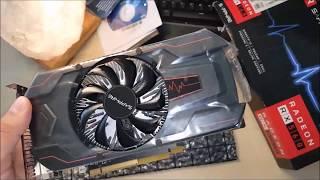 SAPPHIRE PULSE Radeon RX 560 4GD5 4GB Ekran Kartı Kutu Açılımı ve İncelemesi - Unboxing