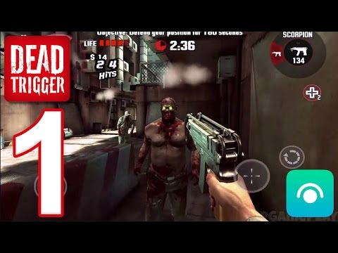 DEAD TRIGGER - Gameplay Walkthrough Part 1 (iOS, Android)