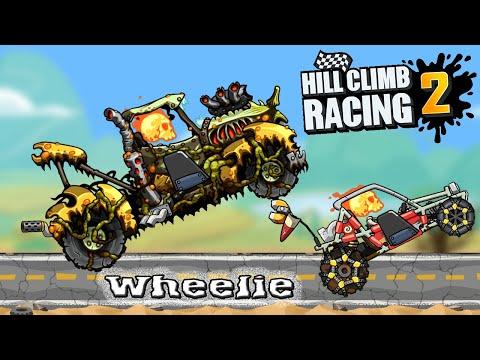 Hill Climb Racing 2 Wheelie - Грузовик или Багги Езда на заднем колесе, прохождение игры Хилл Климб