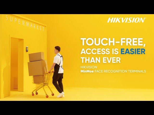 Hikvision MinMoe Face Recognition Terminals