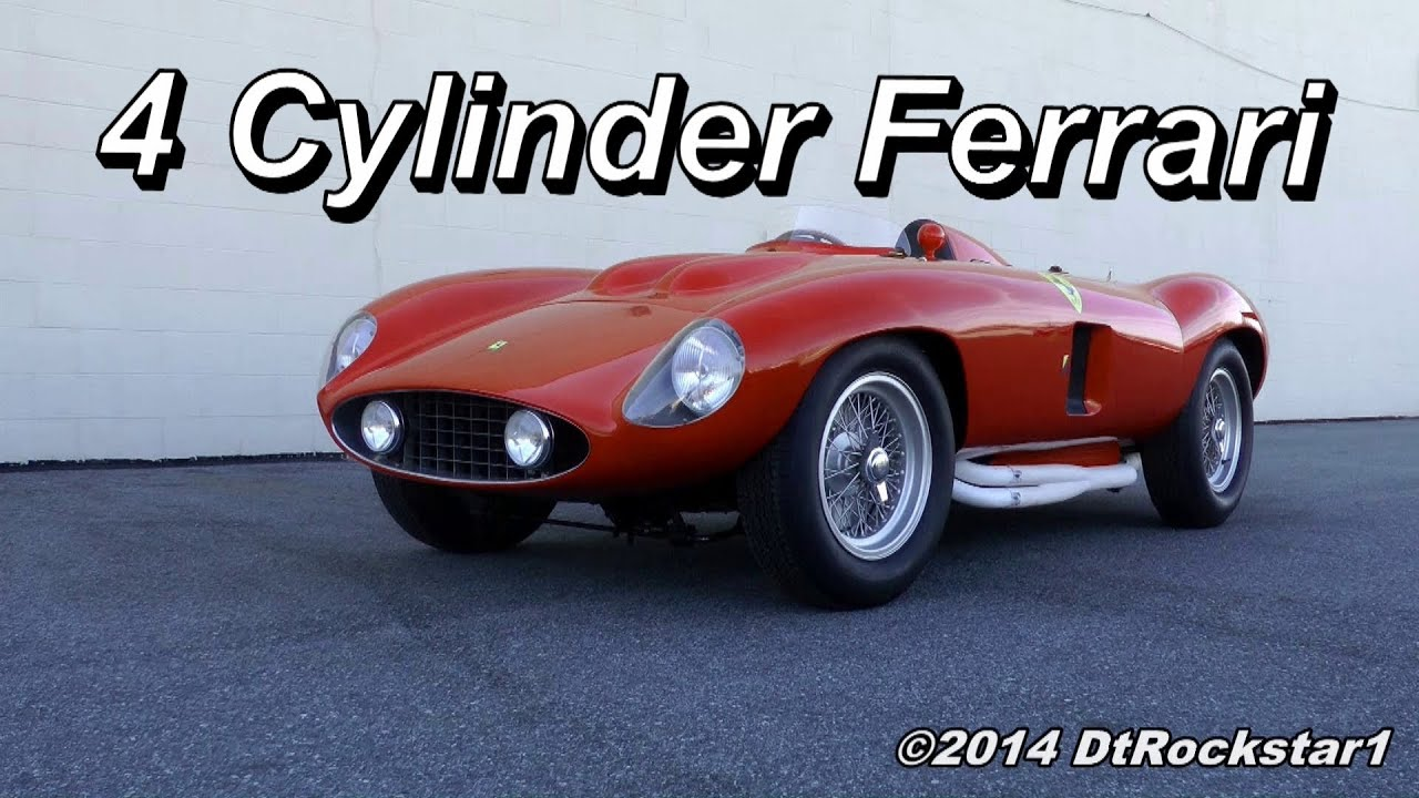 Cylinder Ferrari Revving Youtube