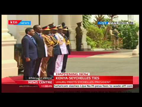 Uhuru Kenyatta and Seychelles President Faure to hold talks on Tourism and Maritime security