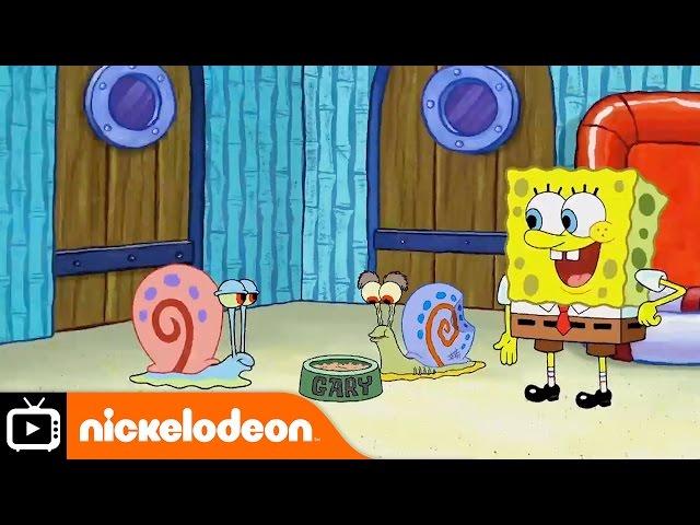 SpongeBob SquarePants | Snail Sanctuary | Nickelodeon UK