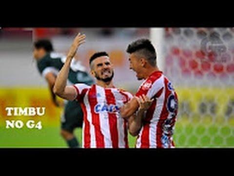 Náutico 1 x 0 Goiás - Melhores Momentos - TIMBU no G4 - 35ª Rodada do Brasileirão Série B 08/11/2016