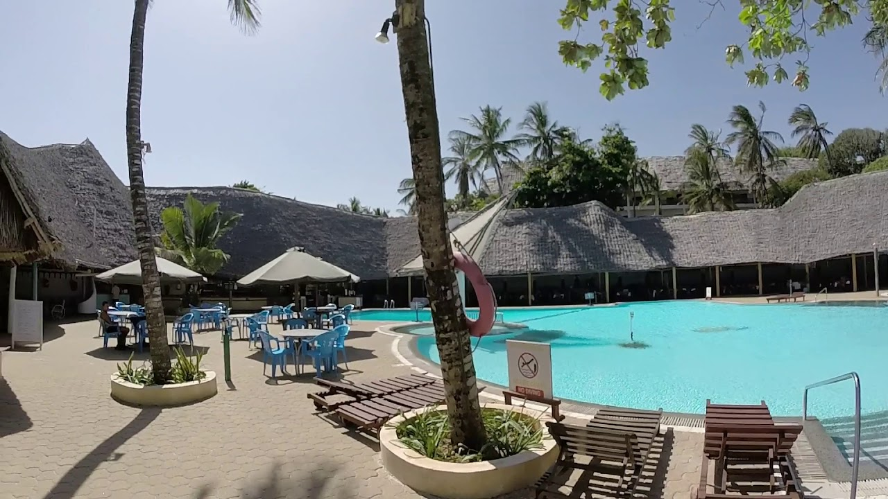 Kenya Turtle Bay Beach Club Watamu - YouTube