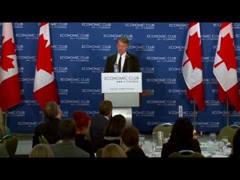 Graham Henderson at the Economic Club of Canada: The Broken Promise of a Golden Age