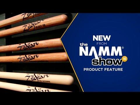 Live at NAMM 2016 - Zildjian Gauge Series Sticks