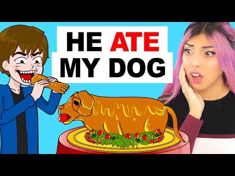 My Crazy Brother Ate My Dog (TRUE STORY Animation Reaction)