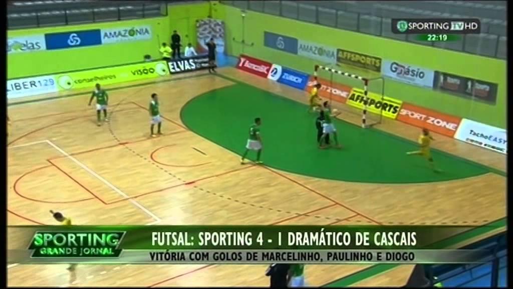 Futsal :: 21J :: Sporting - 4 x Cascais - 1 de 2014/2015