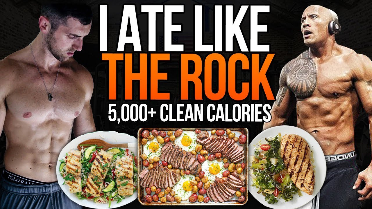 Normal Guy Tries The Rock's Diet and Meal Plan