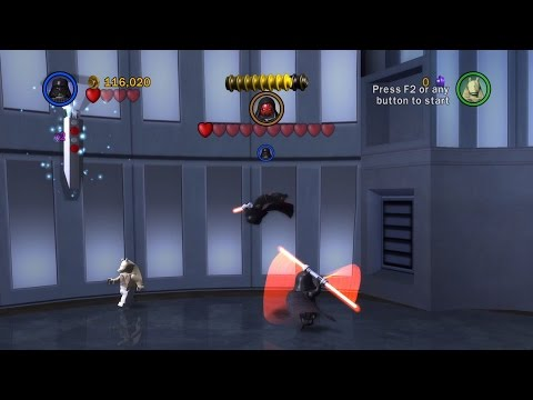 LEGO Star Wars: The Complete Saga. #6. Darth Maul (Свободная игра, 100%)