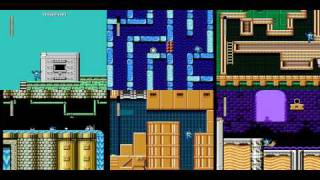 Mega Man 1-6 Sextuple TAS (One Level Only)