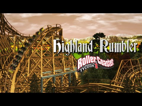 [RCT3] Highland Rumbler - GCI Wooden Coaster CT