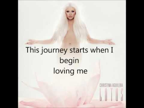 Christina Aguilera-Empty words (lyrics)