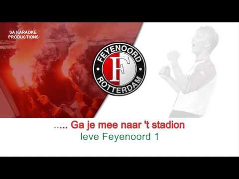"""Karaoke HD """"Hand in Hand kameraden"""" (clublied Feyenoord)"""