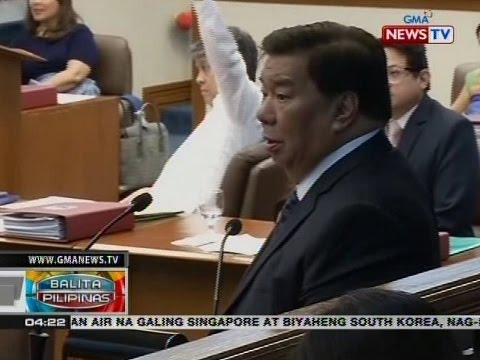 BP: Sen. Drilon, tinanggal bilang Senate President Pro Tempore