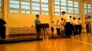 Урок физ-ры в Казахстане