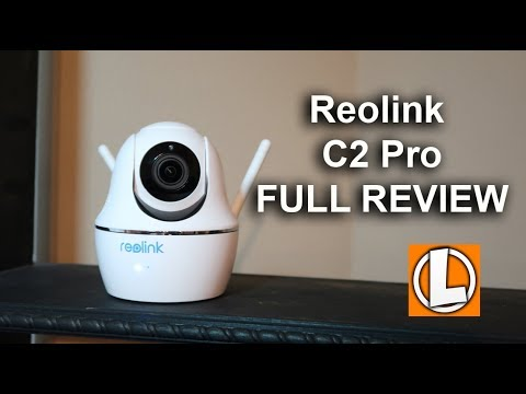 Reolink C2 Pro PTZ WiFi Security Camera Review - Unboxing, Features,  Settings, Setup, Footage